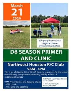 District 6 Patter Primer and Clinic
