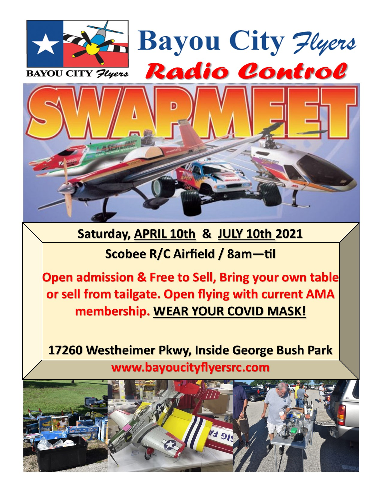 April Swap Meet