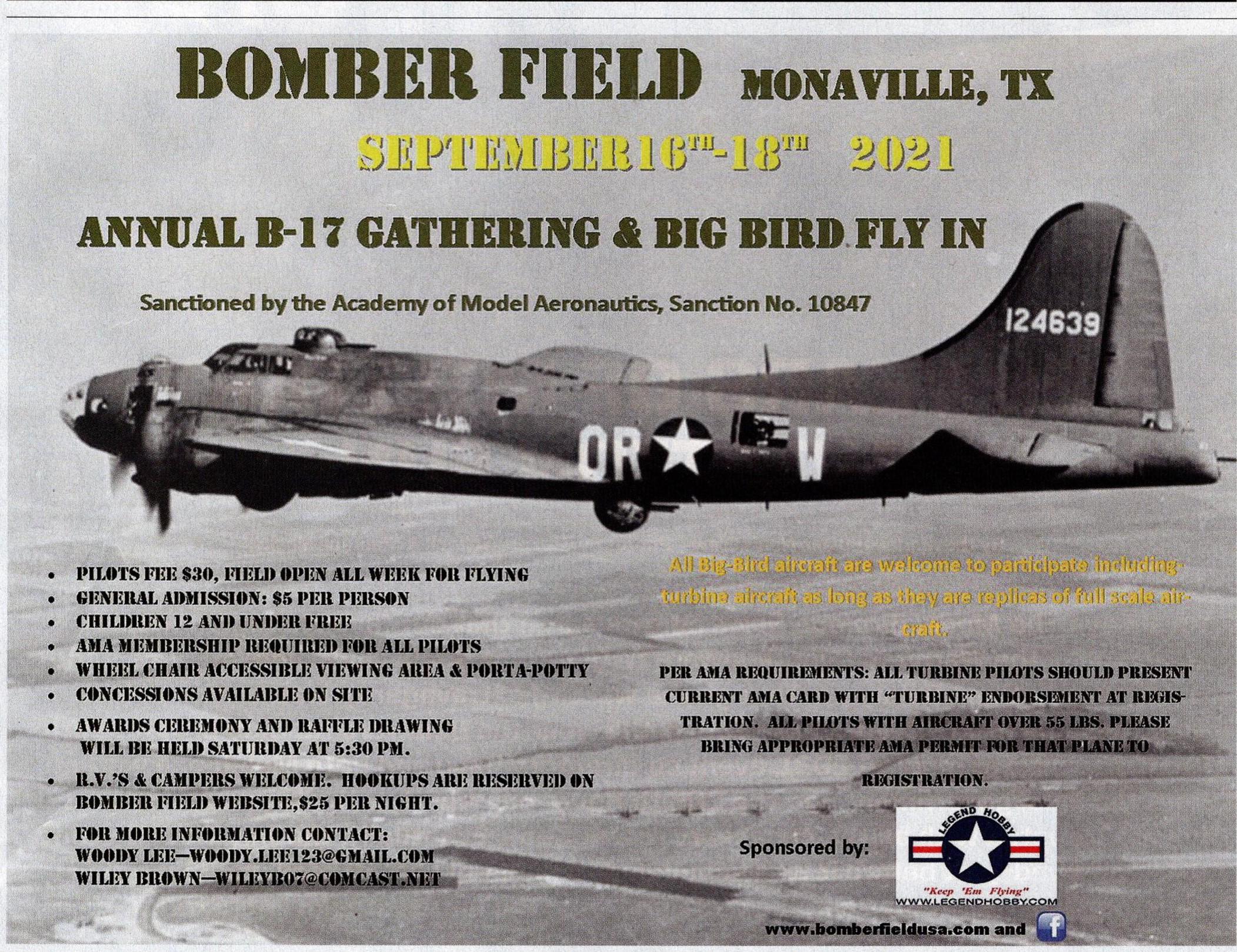 Bomber Field Annual B17 Big Bird